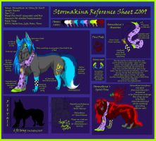Stormakina Reference sheet 09 by PinkScooby54