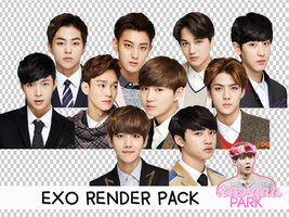 Pack PNG #79 EXO (Ivy Club) by XieraaaPark