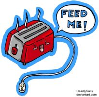 Toaster by deadlyblack