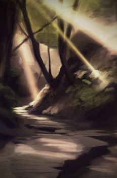 forest study by JerichoRus