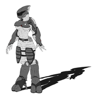 Female Elite Stealth Armor by Methados