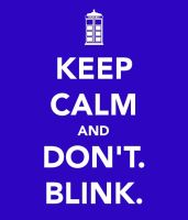 don't. blink. by trekkiekidmaddie