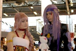 Serah and Caius by memoire-hana