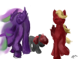 NB Group Doodle by JulepPony