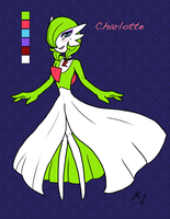 Charlotte the Rocket Gardevoir by The-Clockwork-Crow