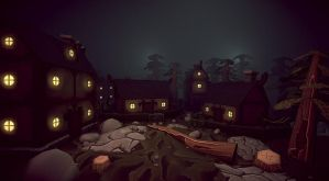 WIP Forrest Village: Light test by Ullbors