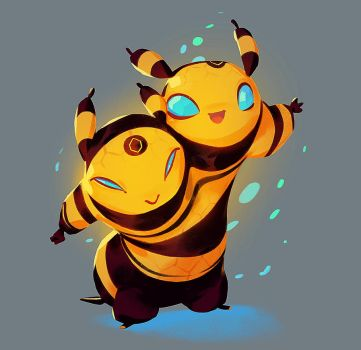 Bee Buddies by nicholaskole