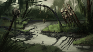 Voodoo Swamp by CavalierediSpade