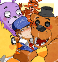 welcome to freddy fazbears by mikaenaka