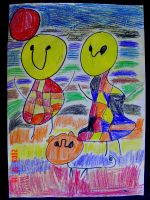 Abstract People by Kitsumi-Hime