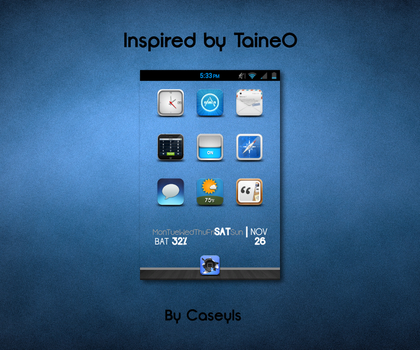 Inspired by Taine0 by Caseyls