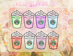 8 Starbucks .png and .ico by ButterfflyAway