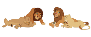 Lion king adopt by blueskyBrittany