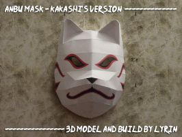 Kakashi's Mask Papercraft by Lyrin-83