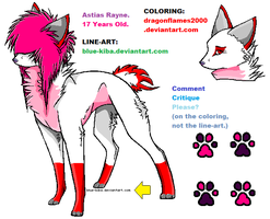 Astias Rayne ref sheet ouo by dragonflames2000