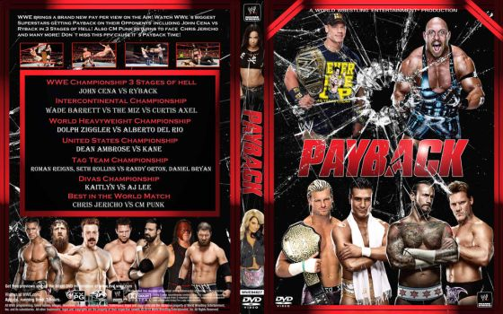 WWE Payback 2013 by Spacehoper29