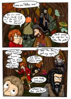 Trippin' in Mirkwood by LittleWerewolfX3