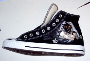 Disturbed Converse by TAZmaniandevil13