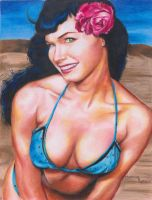 bettie page by user-name-here