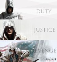 Duty Justice Revenge - Assassin's Creed Series by agungbimo