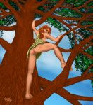 Climbing A Tree by Billie-Bonce