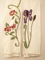 Two Felted Scarves 1 by FlyingFrogCreations