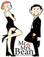 Mr. and Mrs. Bean by ArtAfterSchool