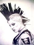 Brody Dalle by shapudl by PortraitPencilArt