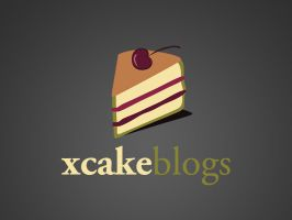 """Logo """"xCakeBlogs"""" by canha"""