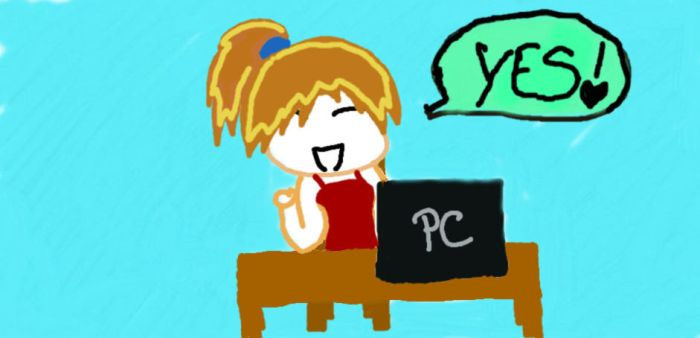 A new computer! by Katniss160