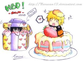Happy birthday NARUTO by narusan13
