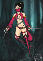Mileena Second Outfit RE by Sparvely