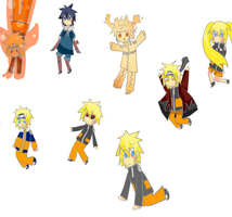 narutos all forms by soulsama11