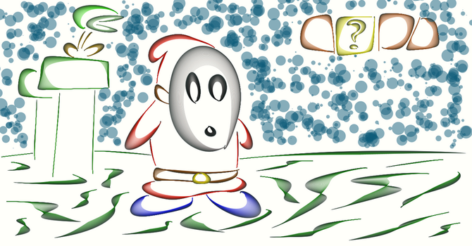 Shy Guy in the Super Muro Land by Horex
