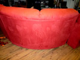 NEW ART MOVEMENT! COUCH PAINTING! by BlackHoleInAJar