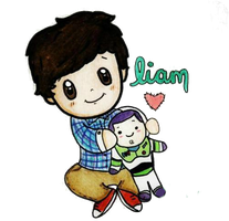 One Direction Cartoon - Liam PNG by NarrysUnicorn