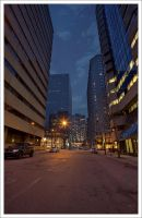 Montreal at Night 48 by Pathethic