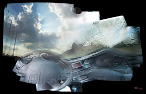 Angelic Sky Drive - videoramic by sequential