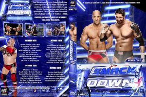 WWE SmackDown October 2012 DVD Cover by Chirantha