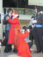 Sebastian and Grell 2 by TheSapphireDragon1