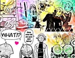 Maka and Soul's Secret is Out by ScreamxStrawberries