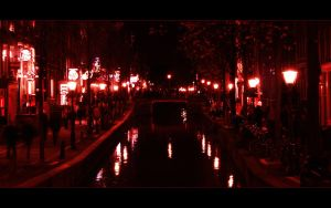 Red Light District Amsterdam by skywalkerdesign