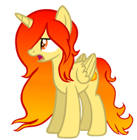 {MLP OC} Princess Flamira Flames by lola4232