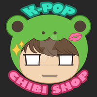 K-pop Chibi Shop Logo by K-popChibiShop