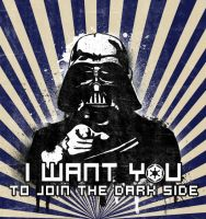 Uncle Vader Wants You by corscariqua