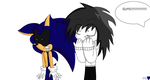 Sonic.EXE and Jeff the Killer by CreepypastaGirl1001