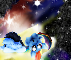 Soarindash Stepping Stars by Yoshi123pegasister