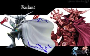 Dissidia Garland Wallpaper by Shadow-Heartless