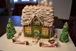 Ginger bread house by Thebabyduck