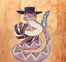Rattlesnake Jake by Dark-Crescent-Moon